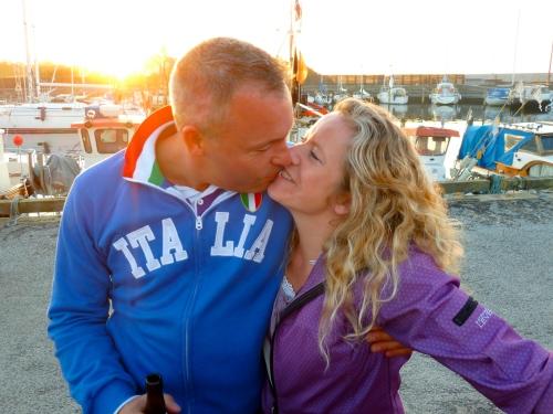 Glemte jeg at sige, hvor meget kærlighed, der er i luften på Kulturnatten i Hornbæk. Her så dokumentationen. Foto: Lotte Lund
