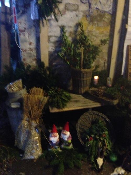 Juleudstilling i stalden.Foto: Lotte Lund
