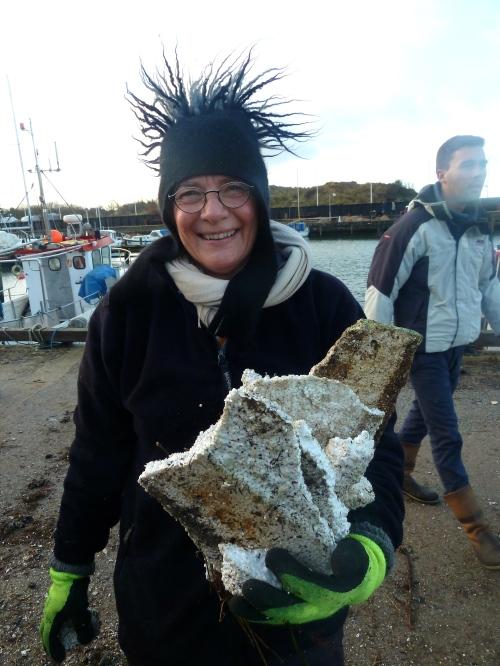 Maria Dalsgaard er en anden af de personer, der altid er aktive til Hornbæk og havnens bedste!. Foto: Lotte Lund.