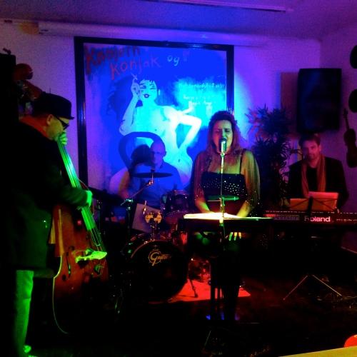Bandet Class Jazz donerede skøn live jazz til Charity Baren. Foto: Mette Clemmensen.