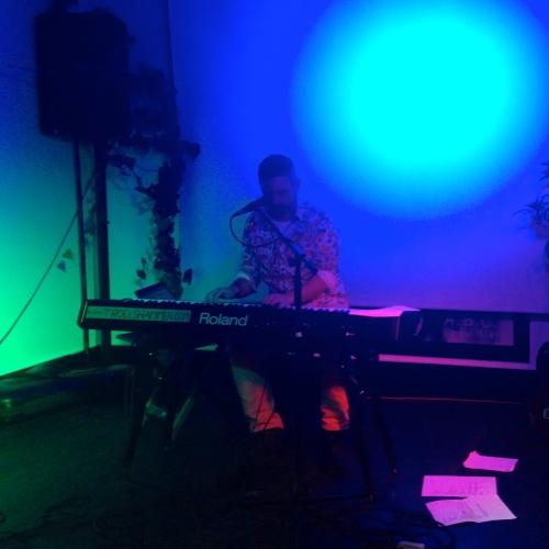 Troels Hammer leverede den smukkeste lounge musik. Foto: Mette Clemmensen.