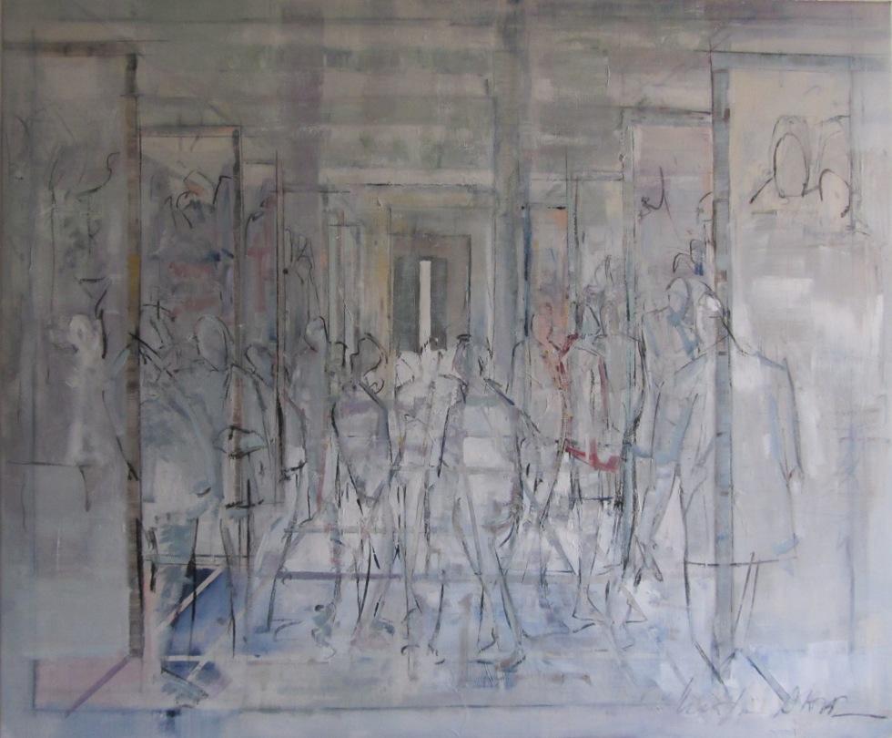 Maleren Kristian Dahl er en svensk kunstner bosiddende i Hornbæk. Mød ham i Hornbæk Galleri.