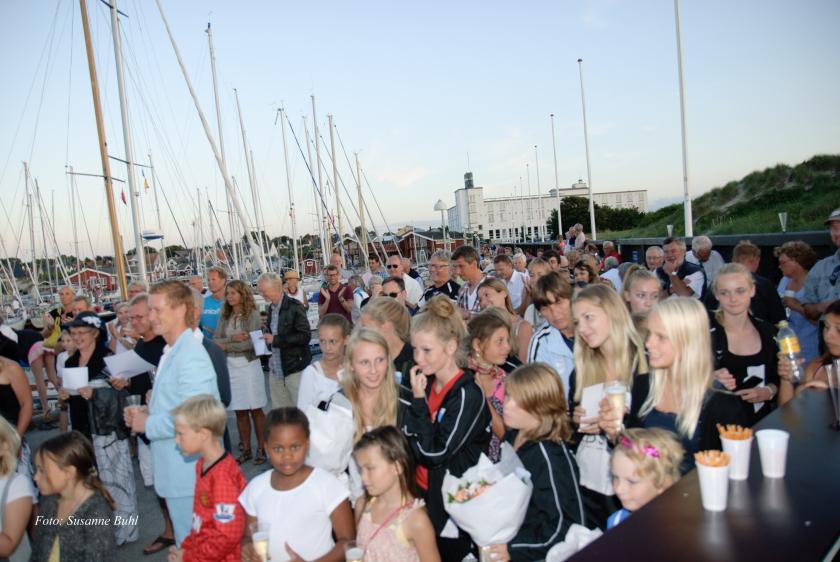 Traditionen med moleræs blev genindført i Hornbæk sidste år. Her et billede fra begivenheden, som gentages i år på søndag den 3. august. Foto: Susanne Buhl.