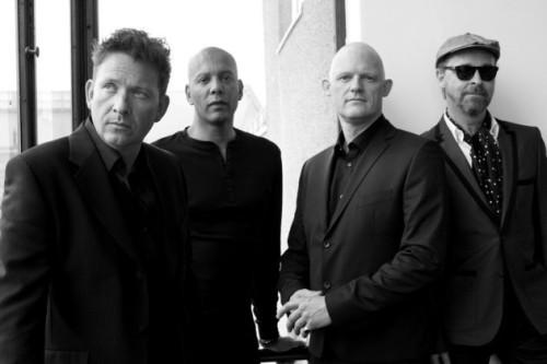 Disse Big Fat Fabulous Four spiller på Hornbæk Havn fredag aften! PR-Foto.