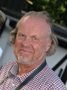 Formand for Hornbæk Turistforening, Olav Berntsen, håber, at Kulturnatten i år også vil trække mange gæster ude fra til Hornbæk. Foto: Susanne Buhl.