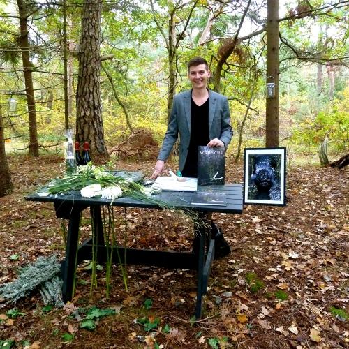 Lars Jon havde holdt i går reception i Hornbæk Plantage for udgivelsen af sin nye bog. Foto: Lotte Lund