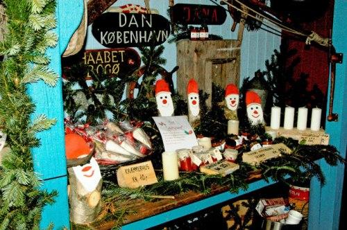 Jul i Skurbyen er garanti for ægte julestemning. Foto: Hornbæk Havneforening.