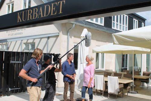 Nordic Cookery med blandt andre Ilse Jacobsen blev optaget i 2014 over tre dage, og er finansieret af destinationen og erhvervet i samarbejde med VisitDenmark og Landbrug og Fødevarer.  PR-foto.