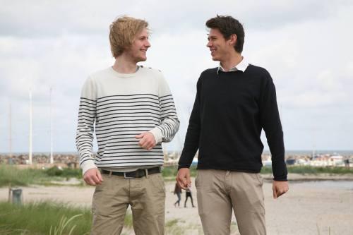Frederik Lindberg (t.v.) og Jonathan Rantzau - drengene bag  Citybook. Foto: Susanne Buhl.