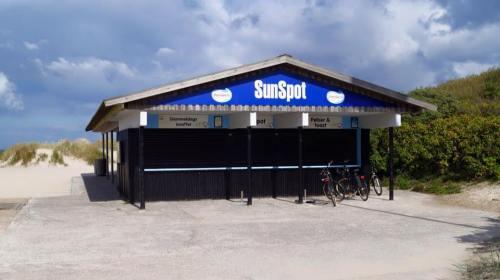 Det er her ved SunSpot for enden af A.R. Friis Vej,  vi mødes til Store Badedag. Foto: Christina Uldahl.