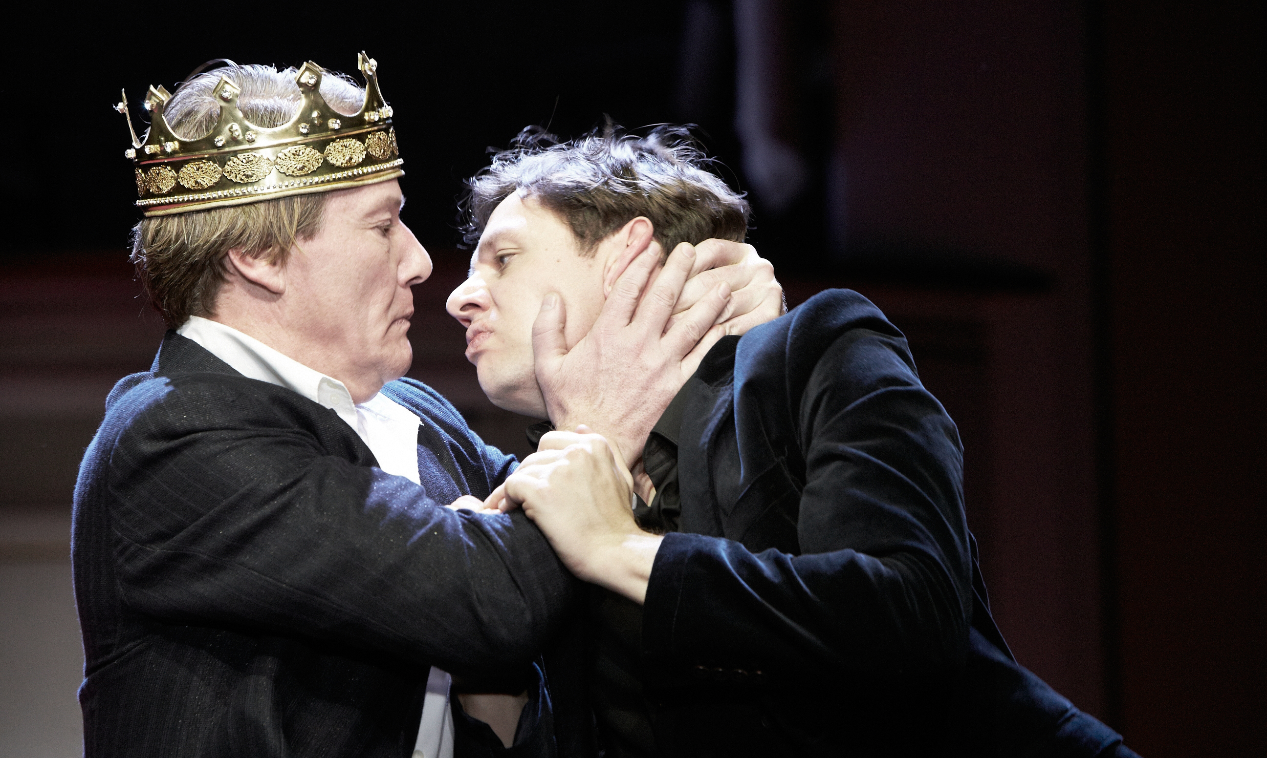 Pressefoto fra Staatsschauspiel Dresdens Hamlet-opsætning, som opføres på Kronborg fra på lørdag. PR-foto: Mathias Horn