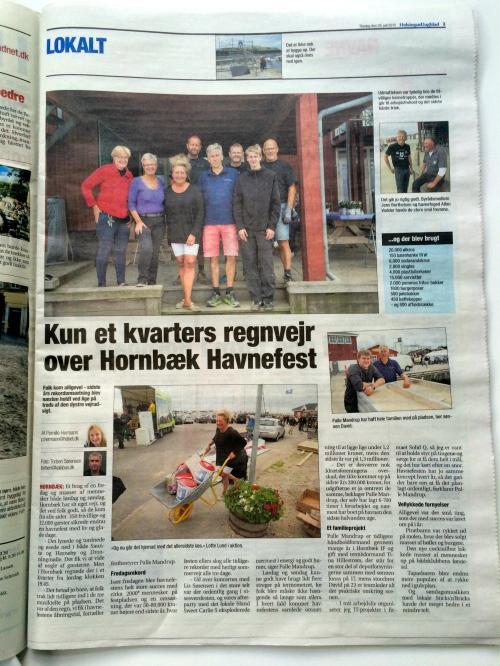 Helsingør Dagblad gav en fin dækning af Havnefesten. Dog sneg der sig en lille fejl ind i en af billedteksterne... Kan du finde den?