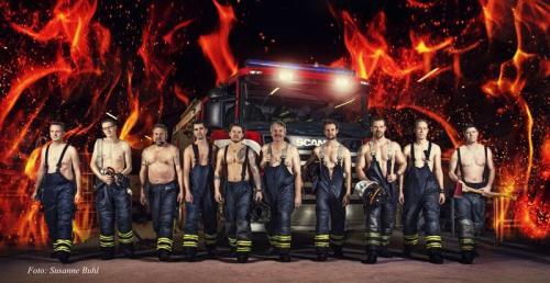 Hornbæks brandmænd foto susanne buhl